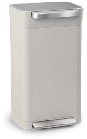 Afbeelding van Grijze Joseph Joseph Intelligent Waste Titan Pedaalemmer 30 Liter