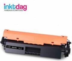 Inktdag compatible met HP 17A toner (CF217A) zwart laser cartridge voor HP M102a/ M102w/ M130a/ M130fn/ M130fw/ M130nw/ M132a/ M132fn/ M132fp/ M132fw/ M132nw/ M132s