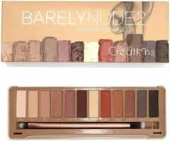 Beige Beauty Creations Barely Nude 2 Eyeshadow Palette