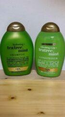 BodyBeautyCosmetics - Ogx - shampoo & conditioner -tea tree.mint
