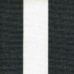 Acrisol Listado Negro 22 stof zwart wit gestreept per meter buitenstoffen, tuinkussens, palletkussens