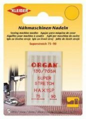 Kleiber & Co 69995 ORGAN Naaimachinenaalden Super Stretch 75-90 5st