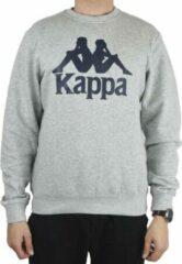 Kappa Sertum RN Sweatshirt 703797-18M, Mannen, Grijs, Sporttrui casual, maat: XL EU