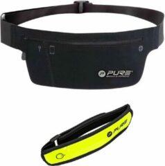 Gele XQ Max - running belt - smartphone - hardloop heup riem - en - hardloop verlichting - hardloop led armband