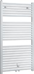 Douche Concurrent Designradiator Venus 120x60cm 830 Watt Glans Wit Middenonderaansluiting