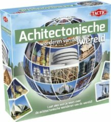 Groene Tactic leerspel Architectonische wonderen junior karton 52-delig