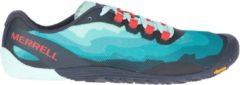 Merrell - Women's Vapor Glove 4 - Trailrunningschoenen maat 37, turkoois/grijs/zwart