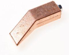 Hasmi koperstuk voor soldeerbout zoolbout, roodkoper, hamervormig, 450g