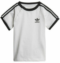 Witte Kleding 3Stripes Tee I by adidas originals