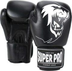 Super Pro Vechtsporthandschoenen - Unisex - zwart/wit 85 - 95kg