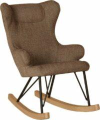 Bruine Quax Kinder-schommelstoel - Rocking Kids Chair De Luxe - Latte