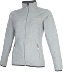 Grijze Tenson Malin Fleece Sportjas - Maat M - Vrouwen - grijs
