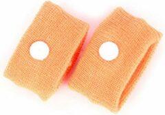 ProductGoods 1 Paar Anti Wagenziek Bandjes - Anti Misselijkheid Band - Anti Misselijkheid Band - Anti Stoom Armband - Anti Misselijkheid Armband - Kleur Oranje