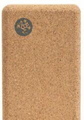 Manduka - Lean Cork Block maat 22 x 7 x 11 cm, beige