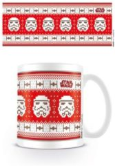 Witte Star Wars Stormtrooper Xmas mok - 300 ml