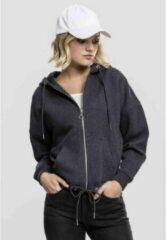 Urban Classics Vest met capuchon -XS- Kimono Grijs