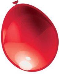Merkloos / Sans marque Zak Met 100 Ballons No. 12 Metallic Rood