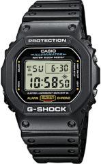 Zwarte Casio G-Shock TIMECATCHER DW-5600E-1VER - Horloge - 41 mm - Kunststof - Zwart
