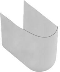 Villeroy & Boch O.novo sifonkap voor wastafel ceramic+ Wit 526600R1