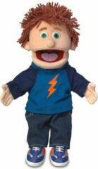 Blauwe Handpop Tommie Sillypuppets 14''
