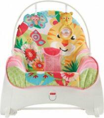 Fisher Price - Roze Baby Tot Peuter Wipstoel - Elektrische Wipstoel Baby - Wipstoeltjes voor kinderen - Fisher-Price Little People
