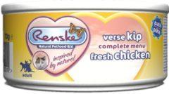 Renske Kat Adult Verse 70 g - Kattenvoer - Kip - Kattenvoer