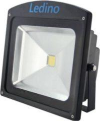 Ledino LED-Flutlichtstrahler in Schwarz mit Epistar LEDs, 50 W, kaltweiß