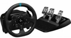 Zwarte Logitech G923 TRUEFORCE Racestuur en pedalen - PlayStation 5, PlayStation 4 & PC