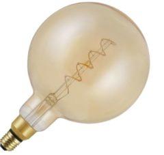 SPL BIG Flex globelamp LED filament 4W (vervangt 25W) grote fitting E27 goud