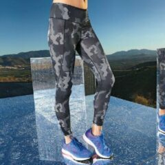 Women's TriDri® performance Hexoflage® legging, Kleur Camo Charcoal, Maat S