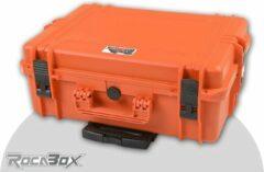 Rocabox - Universele trolley koffer - Waterdicht IP67 - Oranje - RW-5035-19-OFTR - Plukschuim