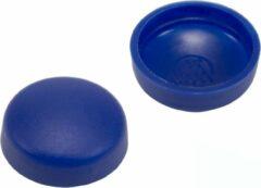 GoodlineNL 10 stuks - Afdekkapjes voor schroeven - 16mm - Blauw