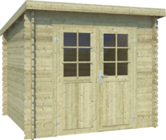 OLP Outdoor Life Products Tuinhuis Indi 175 Groen gedompeld
