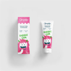 NÖRDIC Nordics Tandpasta Kids Bubble Gum Vegan 50 Ml Wit/roze
