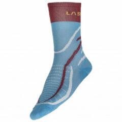 La Sportiva - Sky Socks - Hardloopsokken maat M, blauw/grijs
