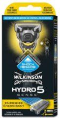 Wilkinson Sword Wilkinson Houder – Hydro 5 Sense Energize (houder + 2 mesjes) , 1 set - 1 stuks