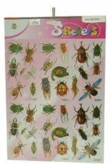 Merkloos / Sans marque Insecten stickers