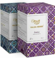 Combipack van Erotica en Valerian Dream- 2 Doosjes van Yalda Herbs kruidenthee- 36 piramide Theezakjes