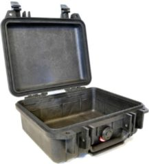 Witte Peli Case - Camerakoffer - 1200 - Zwart - excl. plukschuim 23,50 x 18,10 x 10,50 cm (BxDxH)