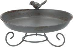 Grijze Trixie Dierenartikelen Vogelbad om neer te zetten 800 ml