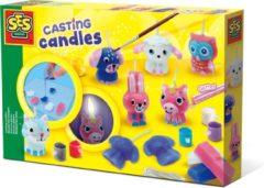 SES Creative kaarsen gieten 30 x 20 cm multicolor