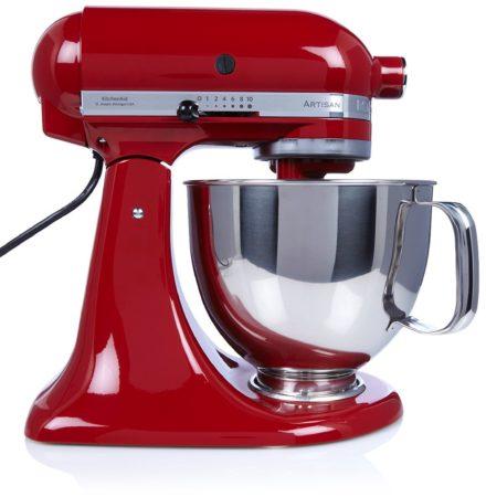 Afbeelding van Rode KitchenAid Artisan keukenmachine 4,8 liter 5KSM125EER