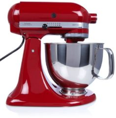 Rode KitchenAid Artisan keukenmachine 4,8 liter 5KSM125EER