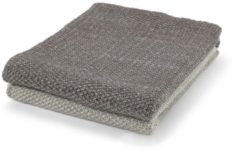 Bruine Dutch Decor Plaid Frans 130x180 cm taupe multi