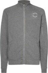Antraciet-grijze Calvin Klein track jacket - grijs-S