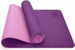 Sens Design yogamat sportmat fitnessmat - paars/roze