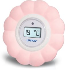 Witte Luvion - Bad/kamerthermometer - Roze