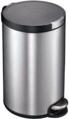 Roestvrijstalen Pedaalemmer - Artistic Step - Voetpedaal - 20l Liter - mat RVS - EKO