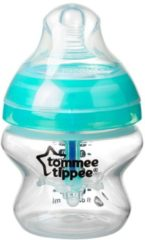Witte Tommee Tippee Closer to Nature Anti-Koliek Zuigfles x1 (150ml)