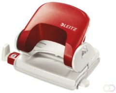 Rode Bruna Perforator Leitz 5038 2-gaats 16vel rood